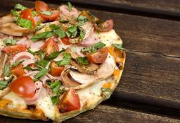 🌯 Waffle Pizza