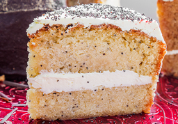 Torta de Amapola 15 Porciones