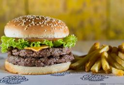 🍔🍟Combo Burger Clásica 300 Gr