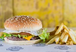 🍔🍟Combo Burger Huevo