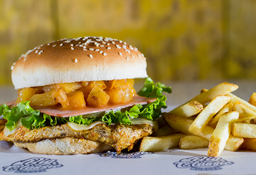 🥪🥖Combo Sándwich Jamón & Piña ( Pollo )