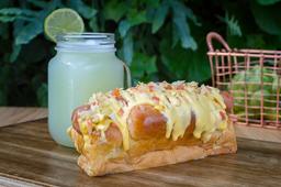 Perro Caliente + Limonada Natural