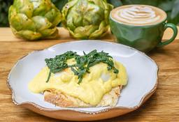 Huevo Poché de la Casa + Capuccino o Jugo de Naranja