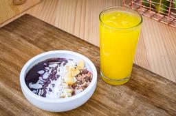 Arma tu Bowl Desayuno + Jugo de Naranja