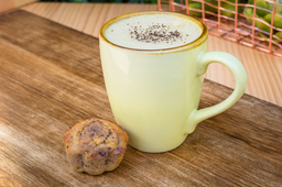 Muffin de Chocolate y Quinua + Bebida Saludable