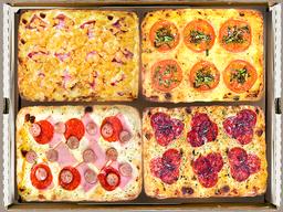 24 Porciones de pizza  elección