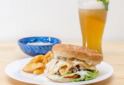 Combo Hamburguesa Shawarma