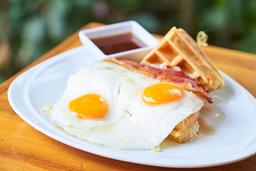 Waffle Sándwich