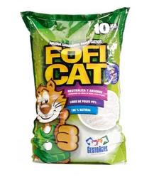 Fofi Cat Arena Sanitaria Verde Aroma Manzana X10Kl