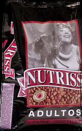 Nutriss Adulto Carne Y Vegetales X30Kl