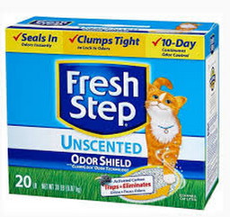Arena Fresh Step Antiolor Aglomerante X20Lb