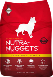 Nutra Nuggets Lamb Meal & Rice X3Kl 38036