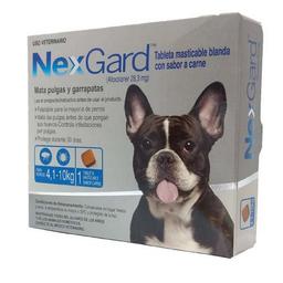 NEXGARD Dog M 1 CHEWAB X 10 (4.1-10kg)