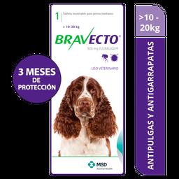 Bravecto 10 - 20 Kg Verde