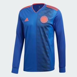 Camiseta Oficial Selección De Colombia Manga Larga 2018