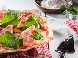 Pizza Rústica Búfala Prosciutto e Pomodoro