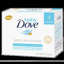 Dove Baby Jabon Barra Hidratación Enriquecida