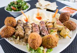 Plato árabe Mixto para 3 personas