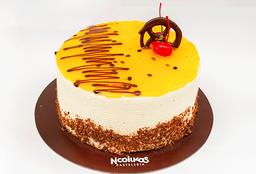 Torta Maracuyá 1/3 Lb. (12 - 15 Porciones)