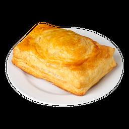 Pastel de queso y tocineta