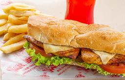Sándwich Filete Pechuga en Combo