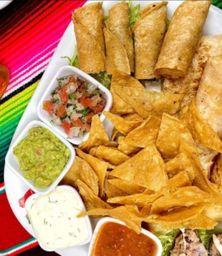 Combo Botanas y Tacos