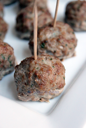 Bandeja Mini Bolitas de Carne