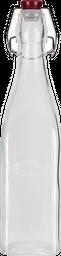 Botella 28*7*7Cm 0,5Lt Vidrio Transparente