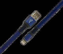 Cable Usb Malla Azul