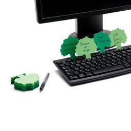 Notas teclado bosque