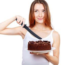 Cuchillo torta samurai