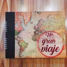 Cuaderno álbum mi gran viaje