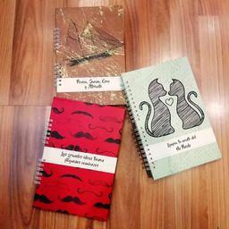Trío de cuadernos jerut