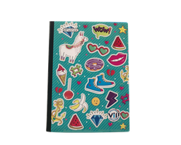 Cuaderno Cosido Cuadriculado X 100 Hojas