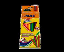 Lapices De Colores Unipunta De 3 Mm X 12 Unds