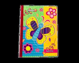 Cuaderno Cosidocon Escarcha X 100 Hojas Con Stickers
