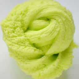 Cloud slime verde pistacho