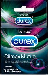 Condones Durex Climax Mutuo x 3