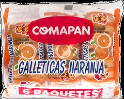 Galletas de Naranja x6