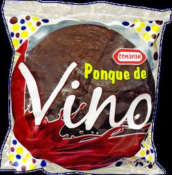 Ponqué Vino Redondo