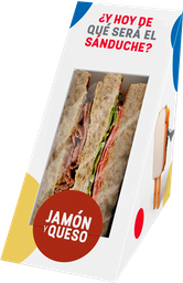 Sandwich Jamón y Queso