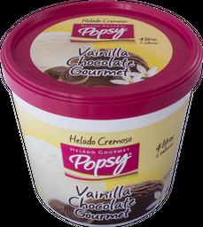 Balde de Helado de Vainilla/Chocolate Gourmet