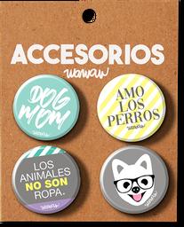 Kit Botones Perro