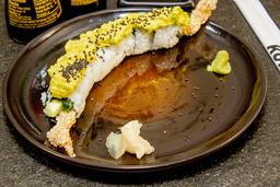 Sesame Crusted Ebi Roll