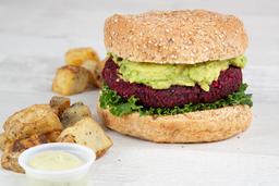 Combo Avo Veggie Burger
