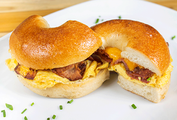 Bagel Bacon Egg & Cheese