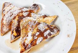Tostadas Francesas con Miel de Maple  + Café