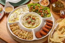 Selección Mezze Vegetariana