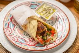 Shawarma de Kibbeh Asado