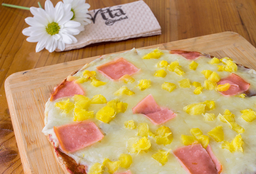 Pizzeta Integral Hawaiana